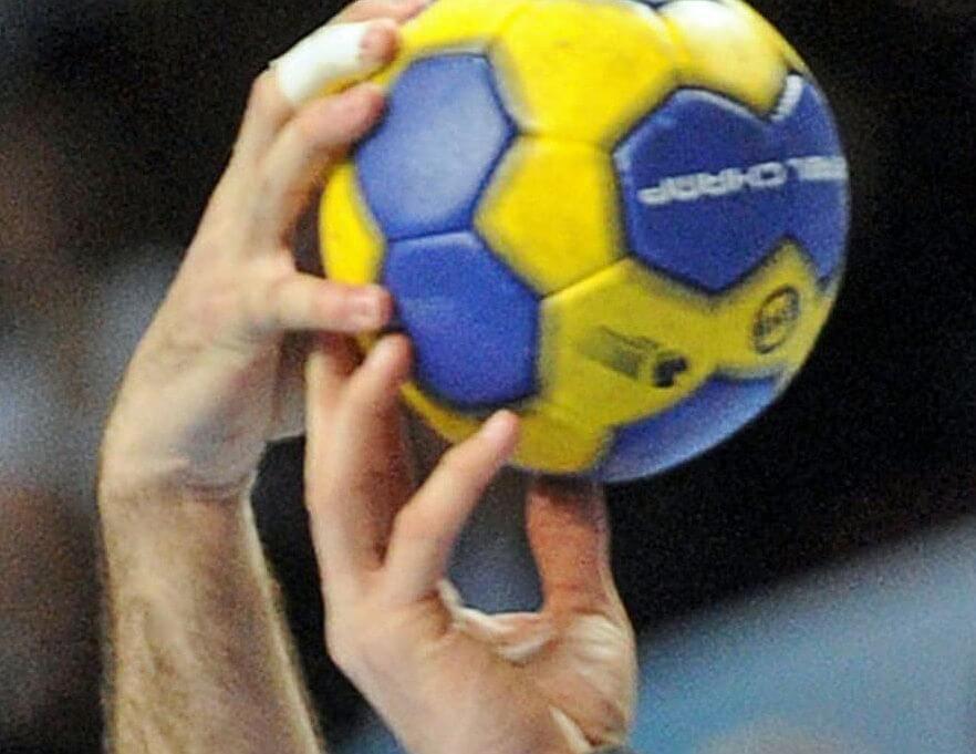 Сильный хват мяча
